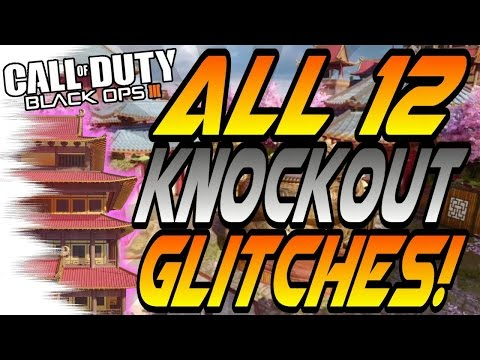 *NEW* ALL 12 KNOCKOUT Glitches! - Wallbreaches, High Ledges (BO3 Eclipse Knockout Glitch)
