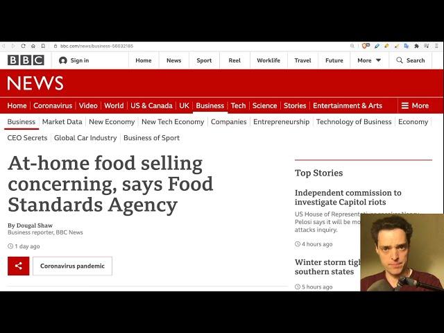 UK: 2 Years Prison for Selling Food - No Vax, No Food (part 2)