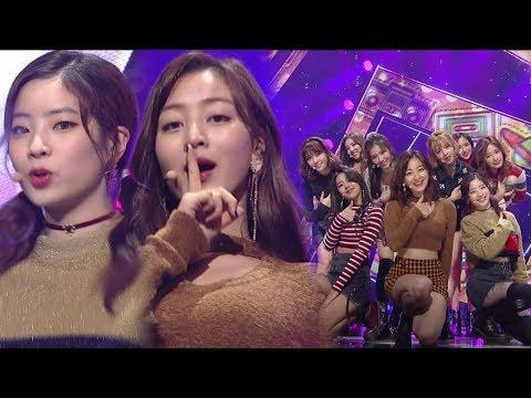 《ADORABLE》 TWICE(트와이스) - LIKEY @인기가요 Inkigayo 20171126