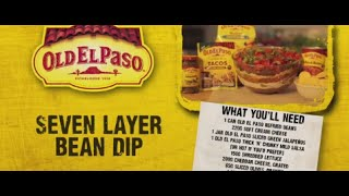 Seven Layer Bean Dip | Andy Bates | Old El Paso