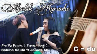 Download AKU RA MUNDUR ( TEPUNG KANJI ) Syahiba Saufa ft James AP Gitar Akustik Karaoke