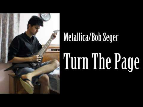 Metallica / Bob Segar - Turn The Page Cover With Super Easy Guitar Chords And Lyrics
