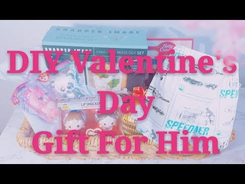 DIY Valentine's Day Gift For Him Part 2 | Date Night Box