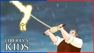 Liberty's Kids 130  - In Praise of Benjamin Franklin | History Cartoon