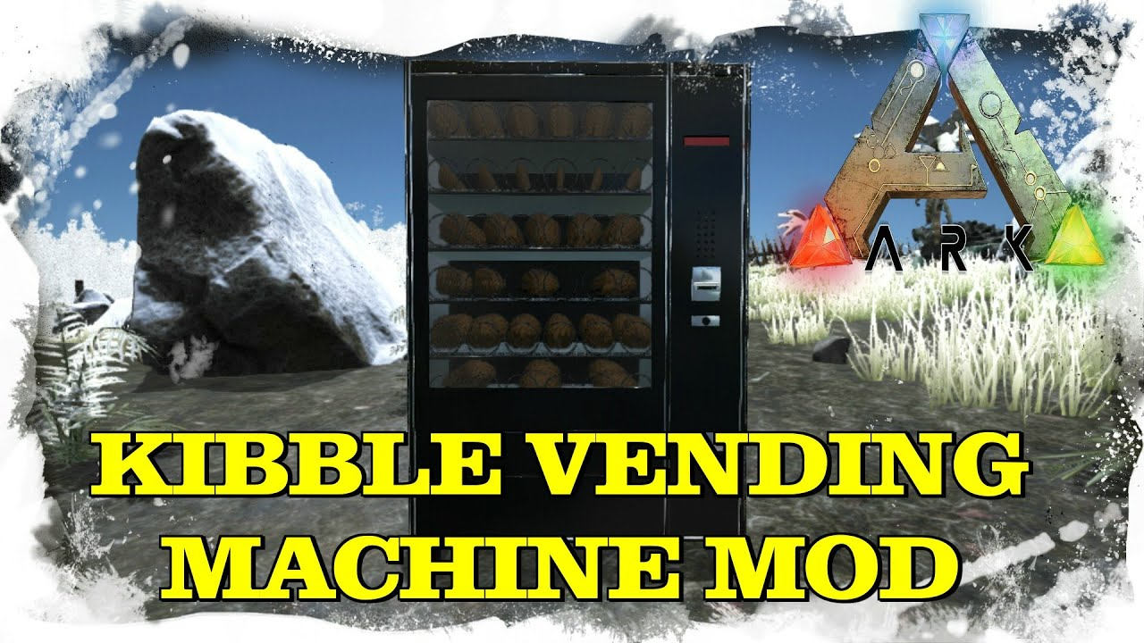 ark kibble vending machine