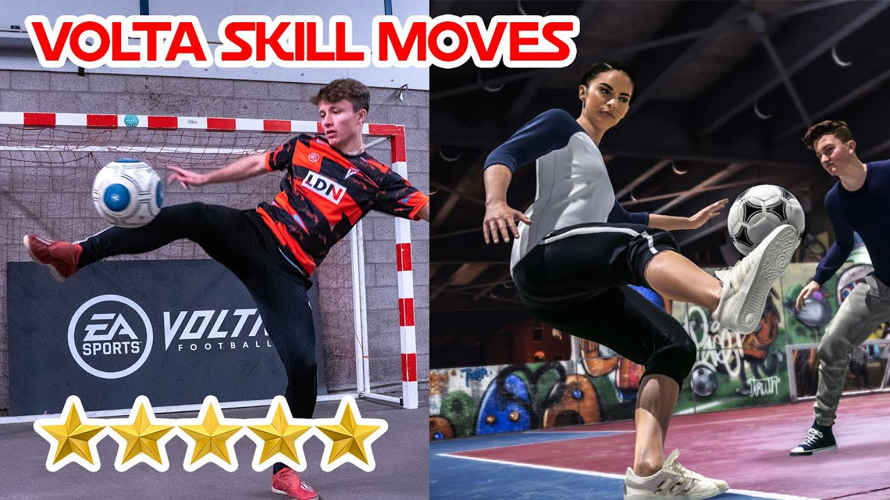 Learn 3 Volta skill moves in Real Life!!!