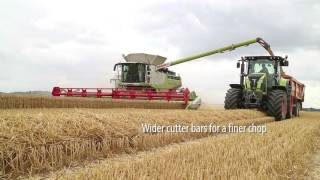 New Claas harvest machinery for 2017