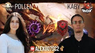 StarCraft 2 LotV VERSUS №6: Pollen VS kaby 1x1 BO5