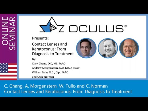 Contact Lenses And Keratoconus: From Diagnosis To Treatment. // Online Seminar, September 14th 2020