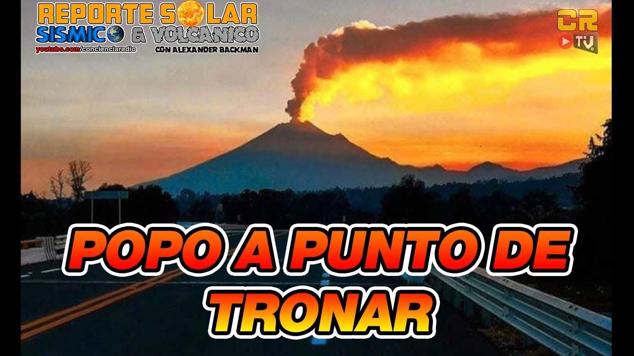 Popo Por Tronar Claus Siebe Aparece Reporte Solar
