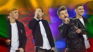 """Vaikinų grupė E.G.O """"Long way from home"""" (2016) Eurovision Song Contest"""