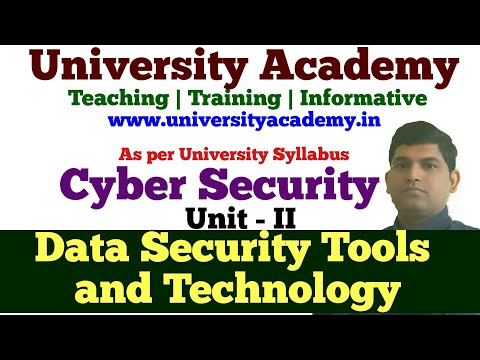 L11: Data Security Technology and Tools| Firewall and VPN|Intrusion Detection System| Access Control