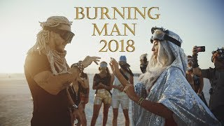 ДР и Свадьба на Burning Man 2018. Путь. Пыль.