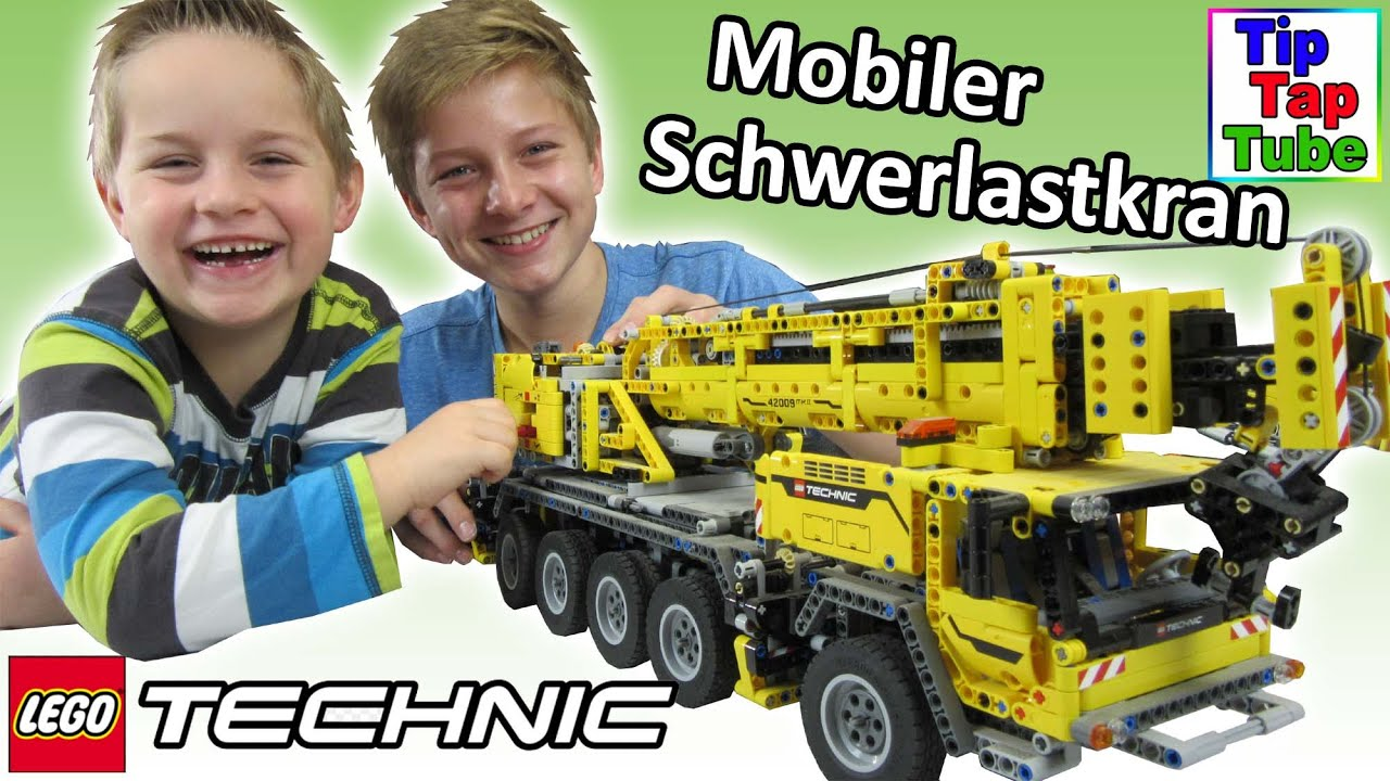 lego technic 42009 mobiler schwerlastkran spielzeug koloss. Black Bedroom Furniture Sets. Home Design Ideas