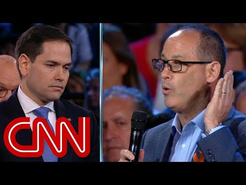 Father challenges Marco Rubio on guns