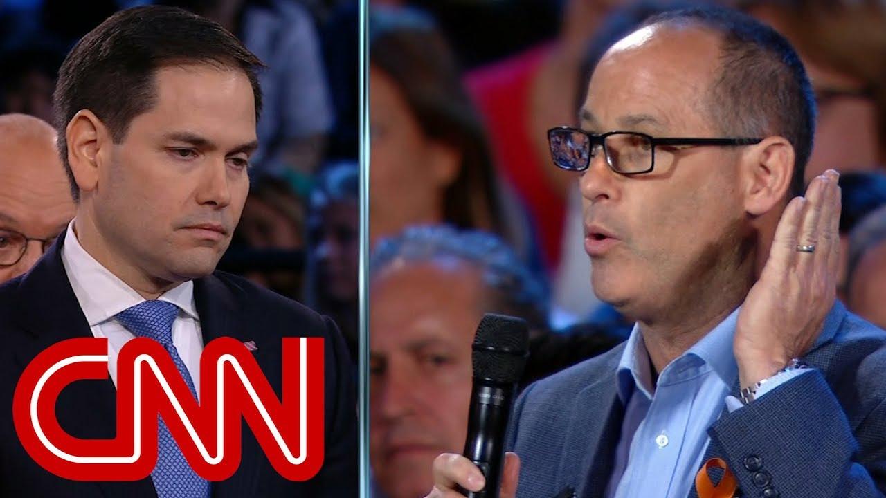 Father challenges Marco Rubio on guns - Dauer: 6 Minuten, 39 Sekunden