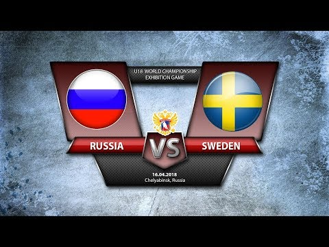 U18 Exhibition Game Russia - Sweden