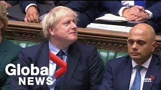 Boris Johnson questioned after losing majority in House of Commons