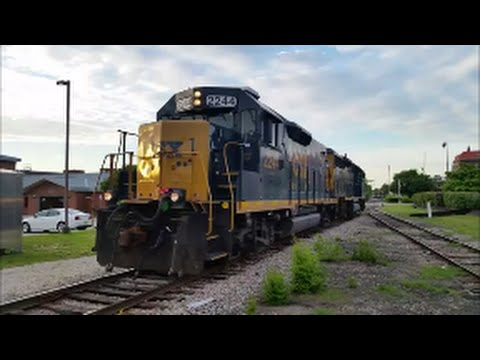 [CSX] [2244] & [6478] RD Slug & Mate Leads Y205-07 With Screaming K5la In Fayetteville NC