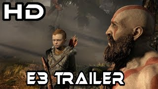 God Of War I E3 2017 Game Trailer I Adventure I PS4