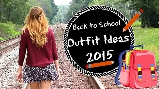 Back to School Outfit Ideas | Courtneyraine