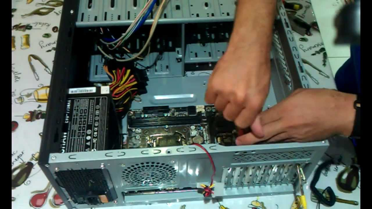 Custom Desktop PC Assembly - Quick Overview - YouTube