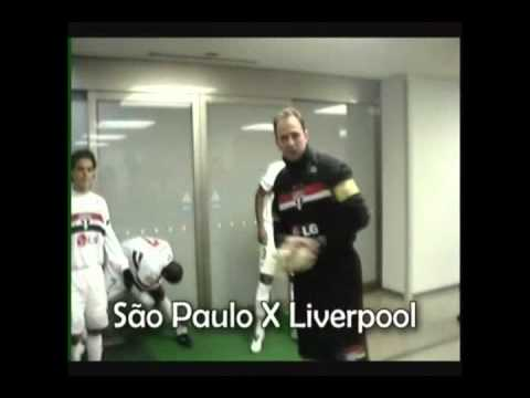Bastidores São Paulo X Liverpool Tricampeão Mundial