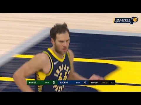 Bojan Bogdanovic'in 29 sayılık Milwaukee Bucks maçı performansı