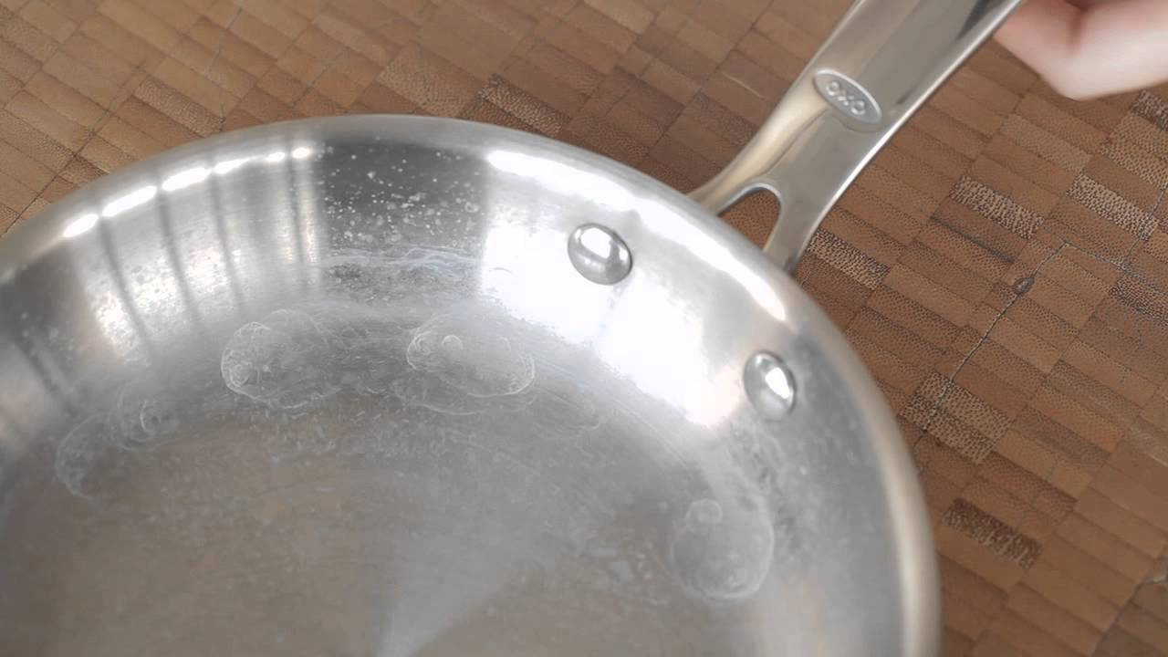 How to Remove Mineral Deposits from Stainless Steel Cookware - YouTube