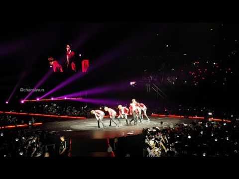 170526 BTS Wings Tour Sydney - FIRE