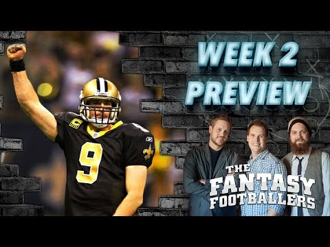Week 2 Fantasy Forecast, Starts of the Week - The Fantasy Footballers