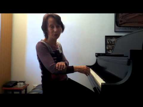 Trills and broken octaves with Edna Golandsky.