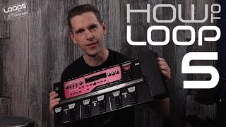 Loop Station Tutorial - HowToLoop #5: Getting Started with Boss RC-300
