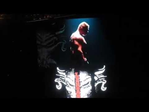 WWE live Event- salt lake city -Brock Lesnar vs Big Show- 04/02/2017