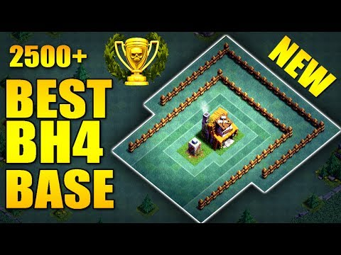 BEST Builder Hall 4 Base w/ PROOF | BH4 / TH4 NEW ANTI 2 STAR Builder Base/  | Clash of Clans