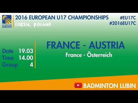 #2016EU17C Lubin - group 4 - FRANCE - AUSTRIA