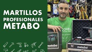 Taladro percutor y martillo METABO: ¡conviértete en un PROFESIONAL!