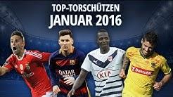 TOP 10: TORSCHÜTZENKÖNIGE JANUAR