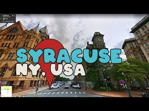 Let's Take A Virtual Tour Of Syracuse New York!