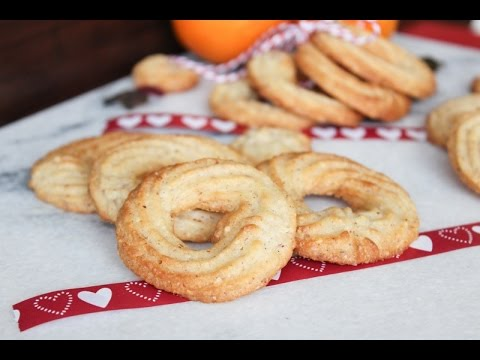 How To Make Danish Butter Cookies Vaniljekranse Christmas Cookies By One Kitchen Episode 70