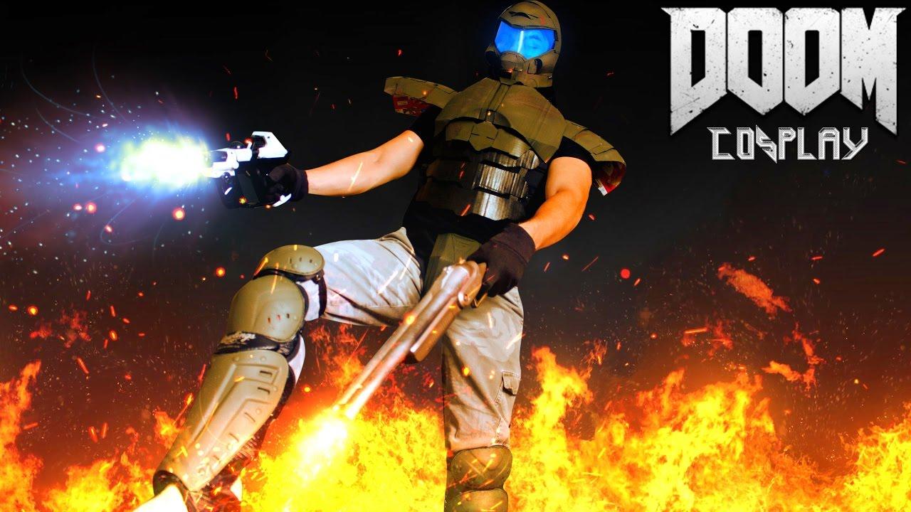 Doom Cosplay Update Youtube