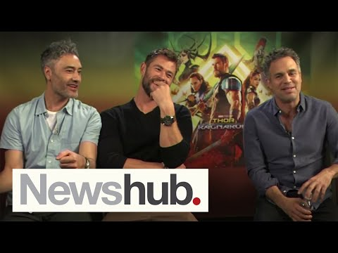 Taika Waititi, Chris Hemsworth, Mark Ruffalo discuss Thor: Ragnarok for 11 minutes  | Newshub