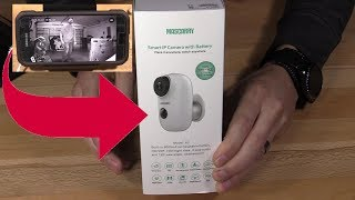 Wireless Wifi Video Surveillance Mascarry ip Camera and Cloudedge App Setup
