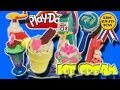 Pt1 Funny Play Doh Plus Magic Swirl Ice Cream Shoppe Featuring THE YEAH KIDS Candy Cupcake rainbow