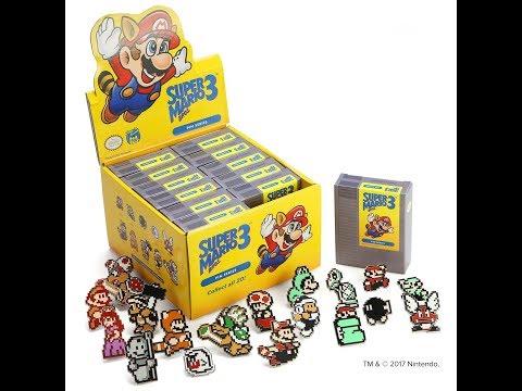 Penny Arcade X Nintendo - Super Mario Bros 3 Blind Box Pin Unboxing