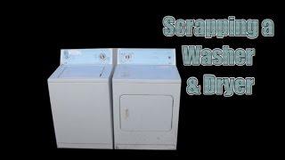washing machine scrap value