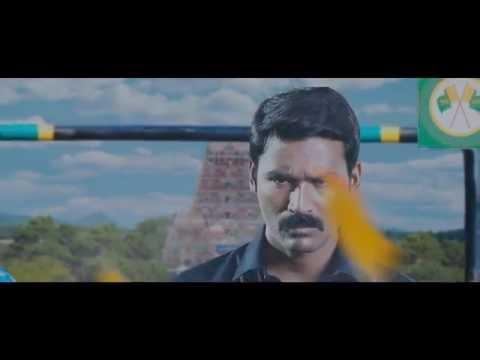 Kodi Tamil Motion Poster Dhanush, Trisha Santhosh Narayanan BGM