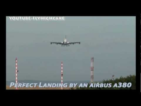 Anxiety help & treatment includes flying - Watch Airbus A380 Perfect Landing!