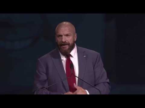 Triple H gets inducted to the Boys & Girls Club of American Hall of Fame 2017