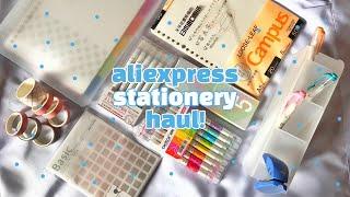 another aliexpress stationery haul ???? ft. jianwu store (alitexpress 11.11)